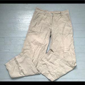 Lole hemp and organic cotton blend wide leg pants